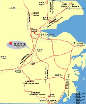Haina Special Steel Company - Zhuji map